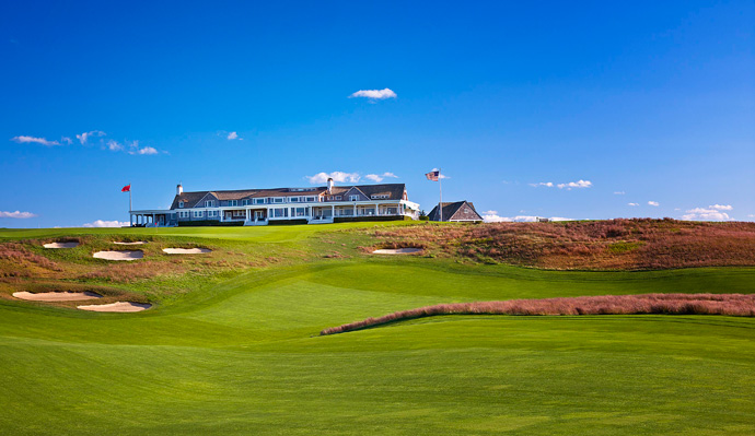 Shinnecock Hills Golf Club -- Southampton, N.Y.                     The clubhouse was the first building designed and built as a golf clubhouse in the United States. Its architect, Stanford White, of McKim, Meade and White, was perhaps better known for his social escapades. The clubhouse was a success, being expanded twice with design by the architect before he was shot in 1906 by Harry Kendall Thaw after White had an affair with Thaw's wife, actress Evelyn Nesbit.