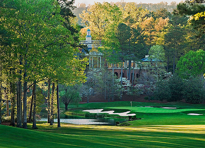 6. Shoal Creek Golf Club, Shoal Creek, Ala.: Now on the rise again as a popular Champions Tour venue, Shoal Creek gained attention as the handsome host of two PGA Championships: in 1984, when Lee Trevino nipped Gary Player and again in 1990, when membership policy issues dogged the event. The design itself fosters no controversy, a rolling, forested layout studded with sporty holes such as the short, downhill par-4 14th and the creek-slashed, par-5 6th.