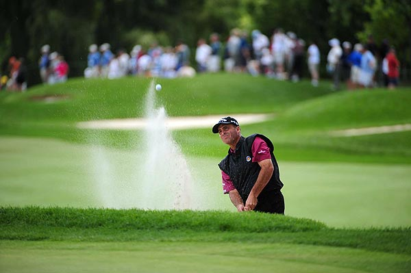 Rocco Mediate finished a disappointing 24 over par after a final-round 85.