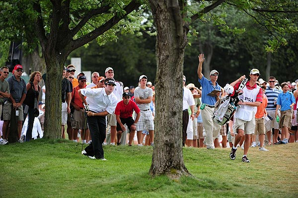 Bubba Watson's final-round 76 left him at 21 over par for the tournament.