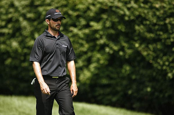 Despite sporting his good luck playoff beard all weekend, Mike Weir couldn't get anything going on the final day. He shot a 1-over 72 to finish two strokes off the lead.