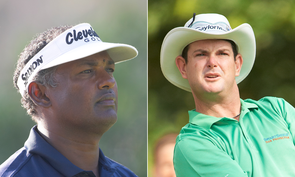 Vijay Singh and Rory Sabbatini have well-earned reputations as two of the surliest members of the PGA Tour, so it was only a matter of time before they clashed. At the Sony Open, Sabbatini was paired with Singh, who reportedly became incensed with Sabbatini's caddie after a blown par putt, and a profanity-laced argument soon followed. Check out the following incidents and feuds from the eventful careers of Vijay and Sabbo.