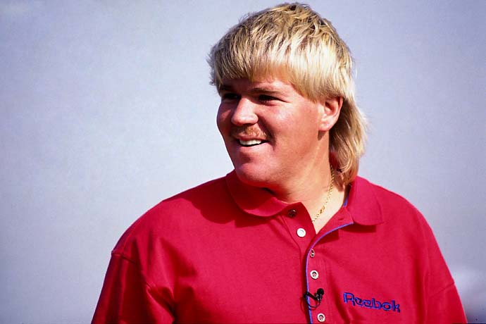 John Daly looks on during the LG Skins Game on Nov. 30, 1991, hosted at the Indian Wells Golf Resort in Indian Wells, Calif.