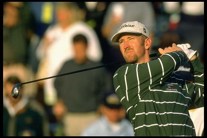 David Duval at the 1997 Skins Game in Palm Springs, Calif.