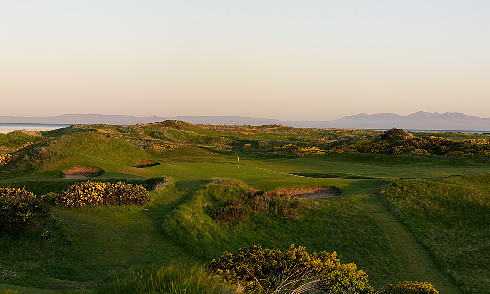 "Royal Troon Golf Club 8th (par 3, 114 yards)                     LOCAL KNOWLEDGE: ""There is only one way to play this hole: pick a club for the middle of the green and hit it. There is no alternative."" - Kieron Stevenson, head professional"