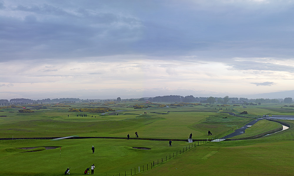 "Carnoustie Golf Links 17th (par 4, 421 yards)                     LOCAL KNOWLEDGE: ""The putting surface has a distinct hill on its left hand side which rolls towards the centre so I try to use that slope to sweep the ball down into the heart of the green, keeping my approach away from the sand."" - Paul Lawrie, 1999 British Open champion"