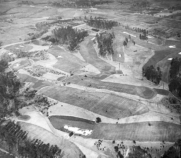 To honor the 80th anniversary of the first Masters, we salute Augusta National as golf's preeminent trendsetter -- from its innovative design to its pioneering TV broadcasts. Pictured: Augusta National in 1933, one year before the start of the Masters.