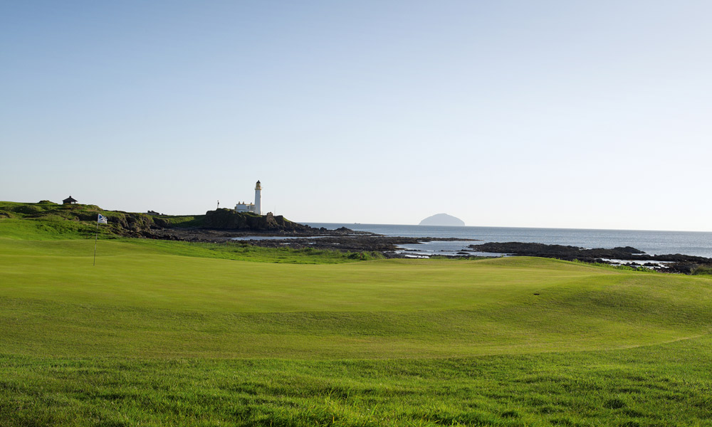 "Turnberry Ailsa Course 10th (par 4, 415 yards)                     LOCAL KNOWLEDGE:""The tenth has always looked great but the coast wasn't really in play and the hole was simply fun, not seriously dangerous. But now the drive has become one of the most exhilarating in golf and the hole is now the only one on any Open Championship course where you could truly say the beach is a hazard."" - Richard Hall, head professional"
