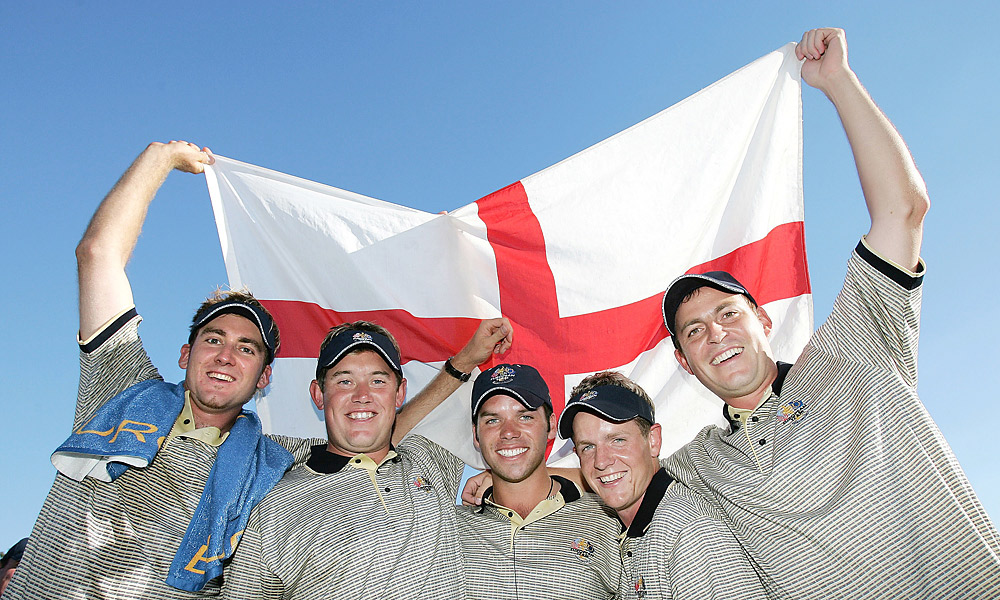2004 Ryder Cup at Oakland Hills CC: Europe wins 18.5-9.5