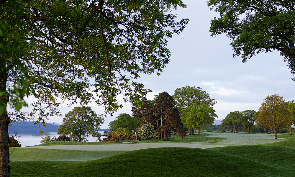 "Loch Lomond Golf Club 7th (par 4, 410 yards)                     LOCAL KNOWLEDGE: ""You need to be on the right half of the fairway and it's just not as easy to get there because those first trees on the right overhang and get in the way of the drive. That's why you need to be able to hit a fade."" - Bert MacKay, head professional"