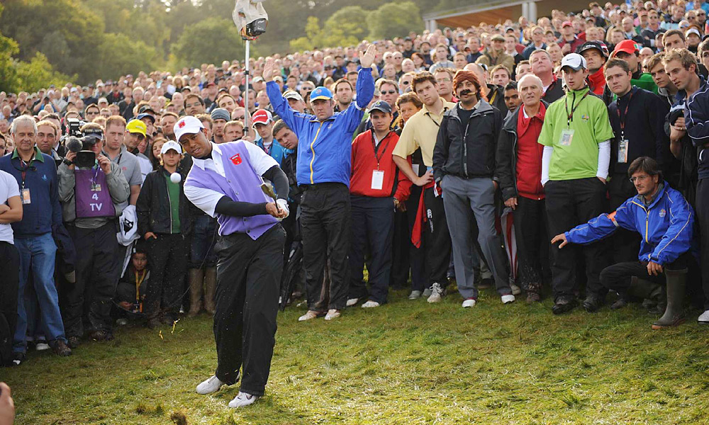 2010 Ryder Cup at Celtic Manor                     In a year in which his play was poor by almost any pro's standards, Tiger put together the best Ryder record of his career, going 3-1. But it wasn't enough, as Team Europe reclaimed the Cup by one point.