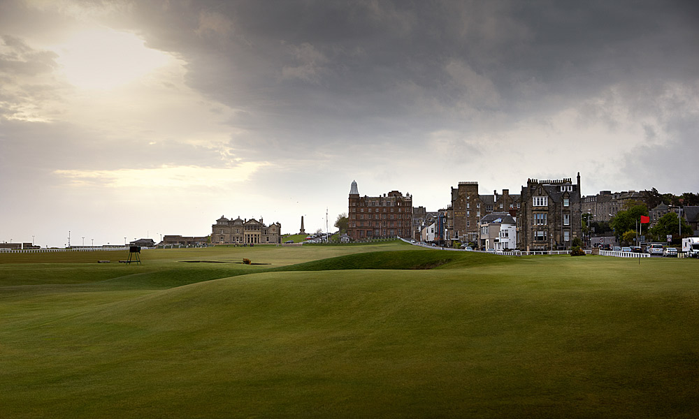 "St. Andrews Old Course 17th (par 4, 455 yards)                     LOCAL KNOWLEDGE: ""Recent changes have made the Road Bunker exactly right. It's got its teeth back. Now an inaccurate ball will finish in it because the ground falls noticeably towards it."" -  Jim Farmer, honorary professional to The R&A"