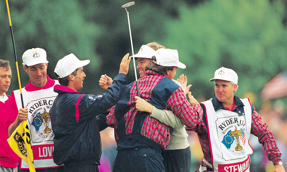1993 Ryder Cup at The Belfry: U.S. wins 15-13