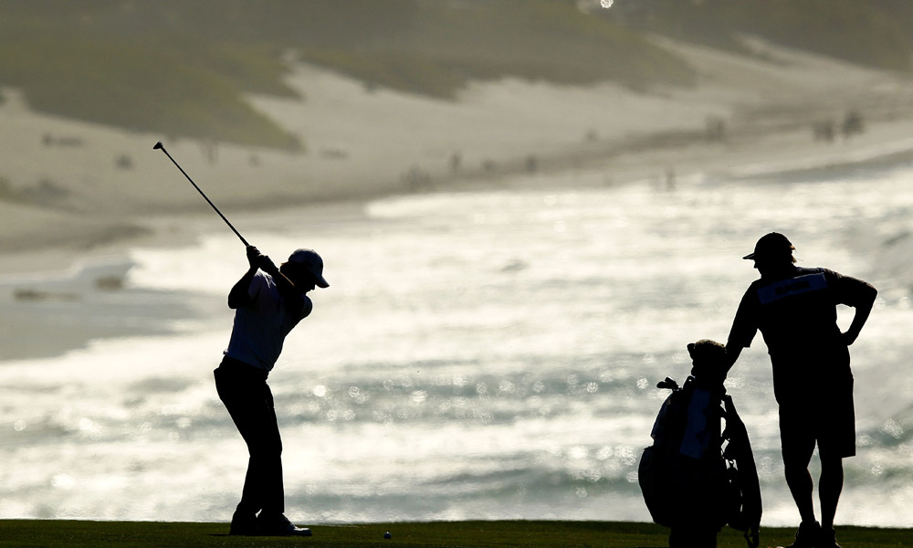 Heath Slocum shot a two-over 74 at Pebble.