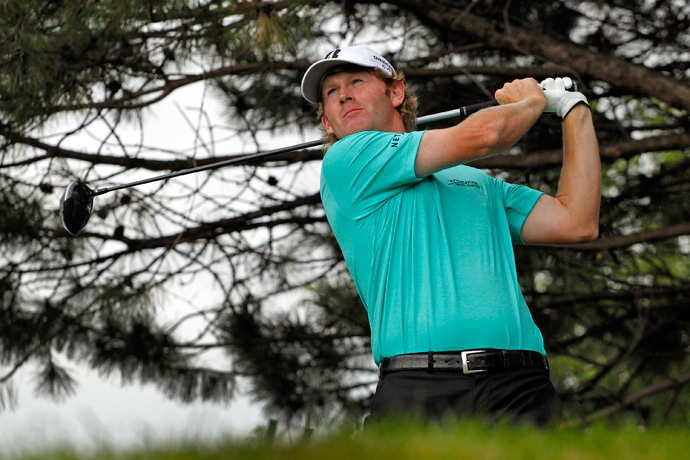 Brandt Snedeker fired a bogey-free 63 on Saturday to take a one-shot lead heading into the final round.