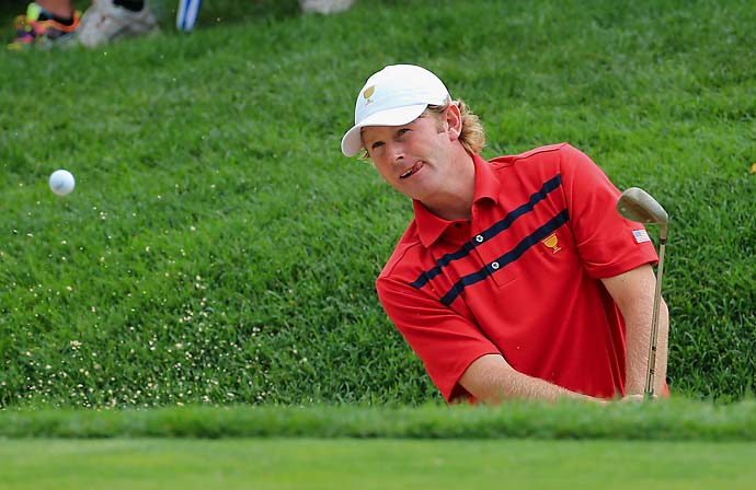 """Trust me, if there's a guy that gets caught doing anything a couple of times, whether it be bending a rule, we know about it, and we let him know about it. You don't want to be labeled 'that guy.' ""                       --Brandt Snedeker on why the PGA Tour doesn't need drug testing."