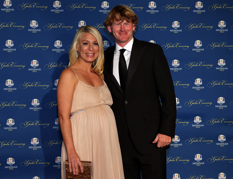 Brandt Snedeker and his wife, Mandy.