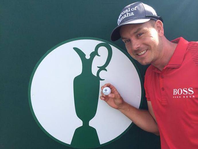 @HenrikStensonPreparing for The Open