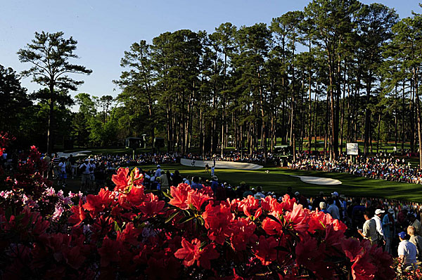 The weather and scoring conditions were ideal at Augusta National on Saturday.
