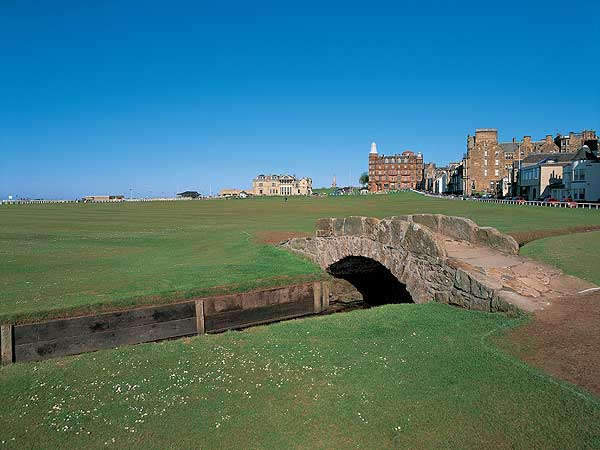 "St. Andrews, Scotland                       ""The most useful tip I can provide about playing the Old Course is one that you won't get from a caddie (for obvious reasons); roughly 80 percent of the putts are straight, whether from 40 feet or 4 feet. So unless you are faced with a putt that unequivocally proclaims a break, don't borrow anything. Just stroke the ball directly at the cup. Few people believe this, but those who do — and possess a sound stroke — will run the table."""