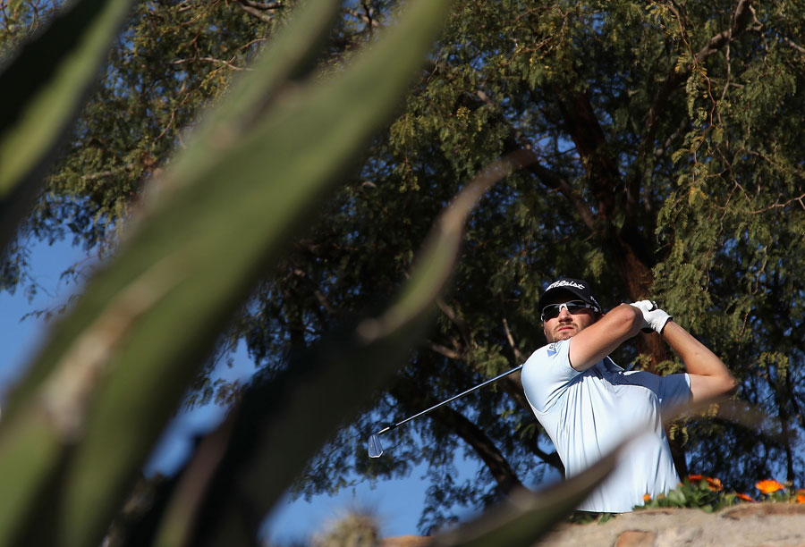Kyle Stanley is rebounding well after his tough loss at Torrey Pines last week. Stanley is currently in fifth place.