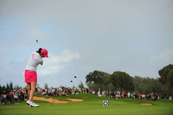 Michelle Wie's $108,332 paycheck is the highest first check of a new card-carrying member of the LPGA. The previous high was Na On Min, who earned $53,375 in her first LPGA start as a rookie in the 2007 Corona Championship.