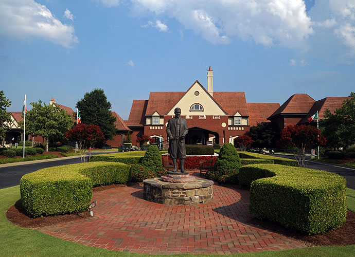 Jones brought the U.S. Open to his home club, but not his home course                       Jones learned and played his golf at East Lake, which used to be the golf arm of the Atlanta Athletic Club until the two split apart in the 1960s, with a new AAC established in the northwest suburbs. Before he died, in 1971, Jones successfully petitioned the USGA to let the AAC host the 1976 U.S. Open.