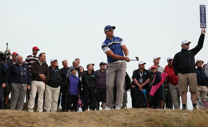 Henrik Stenson leads by two strokes heading into the final round.