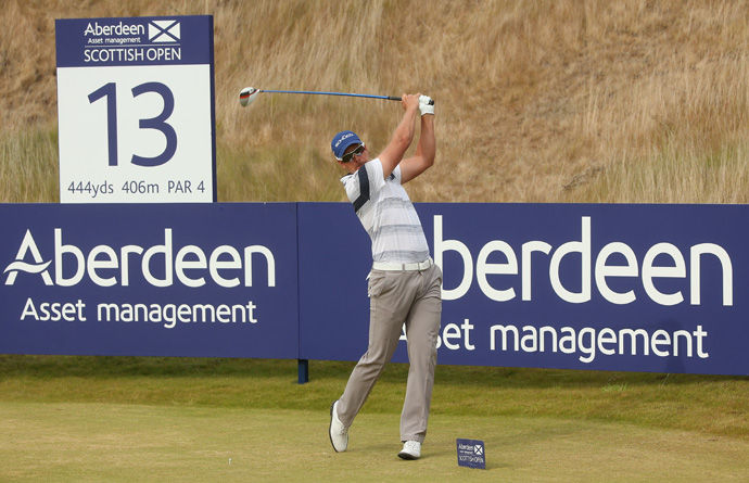 """""""The way I played today, that was top-10 standard,"""" Stenson said. """"It's as good as I have hit the ball all season."""""""