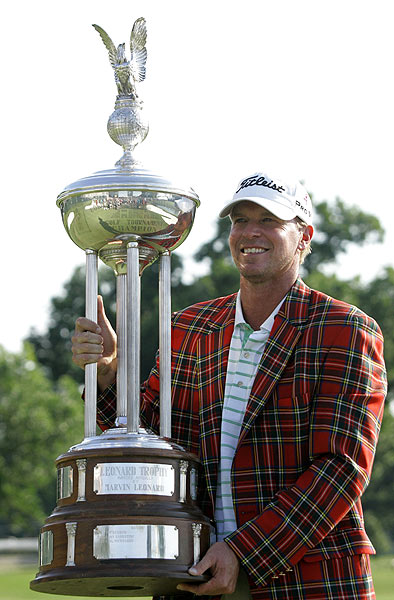 Crowne Plaza Invitational                       Winner: Steve Stricker                       Steve Stricker defeated Tim Clark and Steve Marino on the second playoff hole to claim his fifth career Tour victory and his first in two years.                        Read the entire story