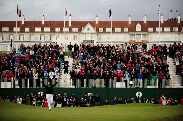 Best of the British                     Here are a collection of the best shots from Sports Illustrated's photographers at Turnberry                                                               The story of the week was Tom Watson, as he flirted with a sixth claret jug, but in the end Stewart Cink grabbed it, beating him in a four-hole playoff.