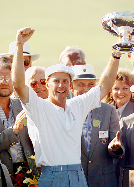 Stewart won 11 times on the PGA Tour, and he was a top-10 player at the time of his death.