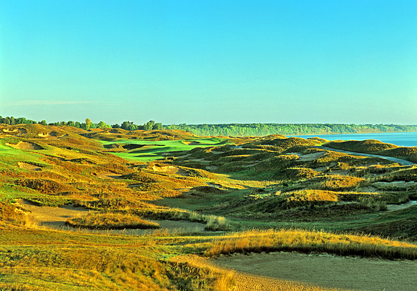 The par-5, 619-yard 11th hole is known as Sand Box.