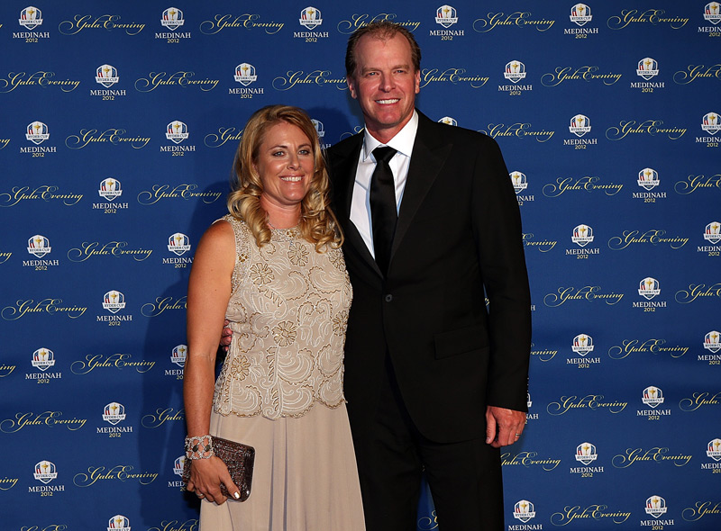 Steve Stricker and his wife, Nicki.