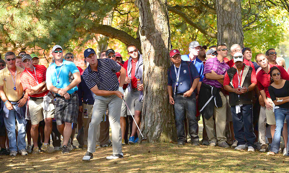 Stricker could not find his game for the second consecutive day. He missed a putt on the final hole that would have halved the match.