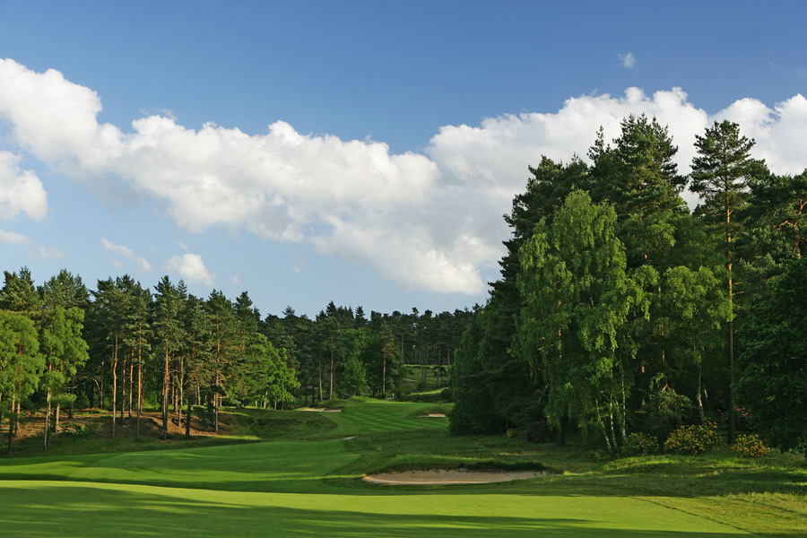 Sunningdale (Old)                       The best parkland course in the country will never host an Open championship, but only for logistical reasons. The superb layout in a London suburb was designed by Willie Park and later worked on by Harry Colt.                        No. 35 on Golf Magazine's Top 100 Courses in the World