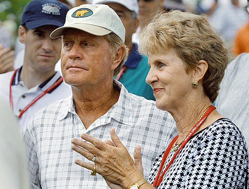 Which  of these  couples  would  you and  your significant  other most want to  have dinner with?                        Jack and  Barbara  Nicklaus 33%                        Barack and Michelle Obama 33%                        Brad and Angelina 24%                        Todd and Sarah Palin 7%                        Rory and Amy Sabbatini 3%