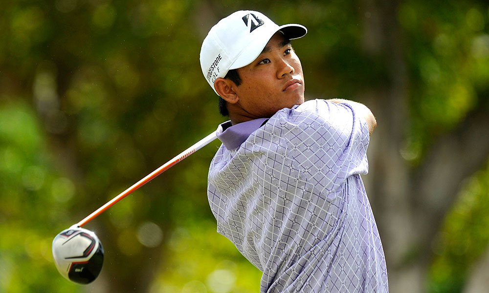 Local favorite Tadd Fujikawa closed with two bogeys for a one-over 71.