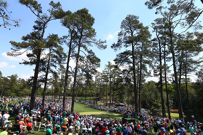 Augusta National fans got perfect weather for Wednesday's Par 3 Contest.