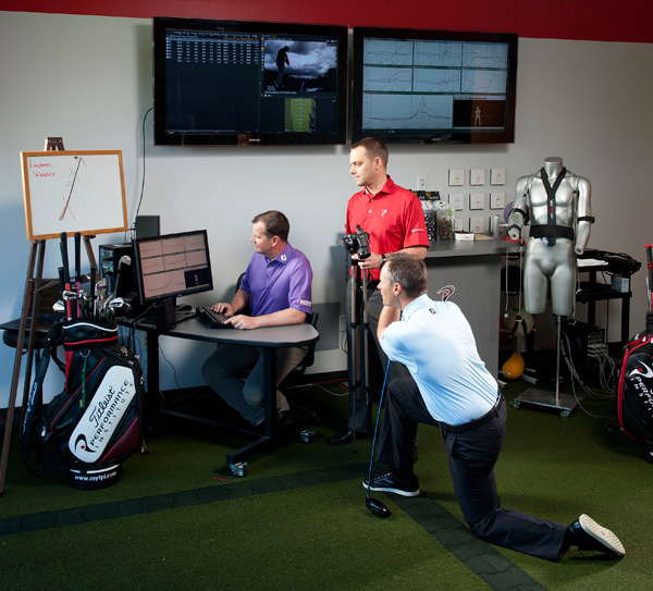 The Triumvirate -- Jon Tattersall, 48; Terry Rowles, 41; Mark Blackburn, 38                                          These three teachers are using the latest technology and sharing data to get right to the problem of your swing.