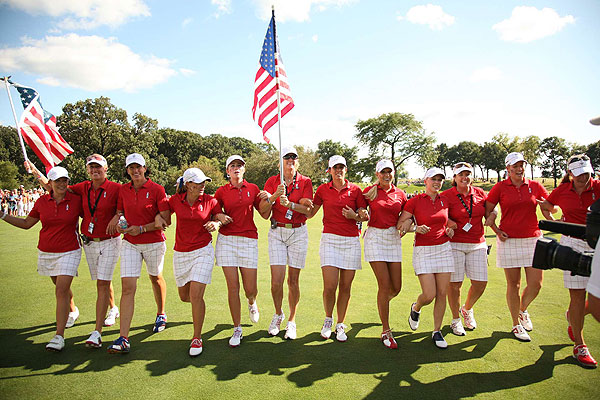 """""""It's not about pride. It's not about money. It's about country. It's about our teammates,"""" said Morgan Pressel"""