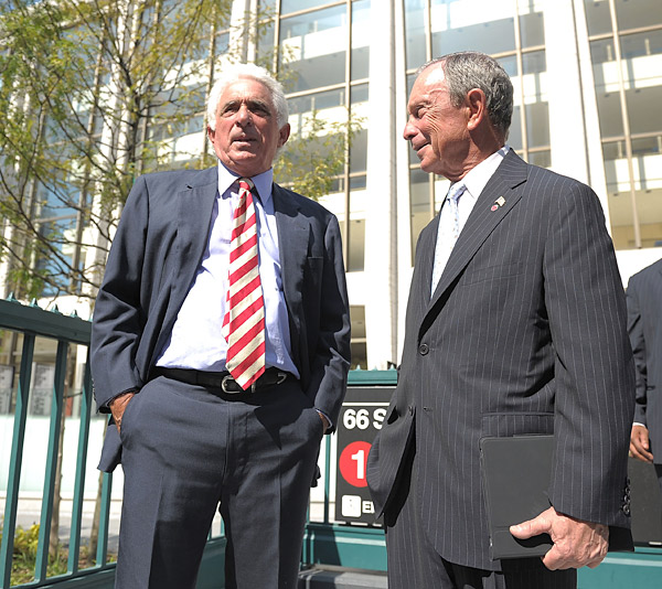 He won't be on this list for long if there's                   anything to this alleged gambling scandal, but Forstman's IMG controls more golfers and more golf                   tournaments than any other company.(Forstmann, left, photographed with New York City Mayor Michael Bloomberg)