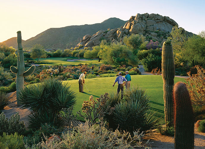 100. The Boulders Club (South) Carefree, Ariz.; Jay Morrish (1984) -- $55-$195, bouldersclub.com                               We're revealing our new ranking of America's best public-access golf courses this week, starting with this Jay Morrish-designed gem in Arizona.