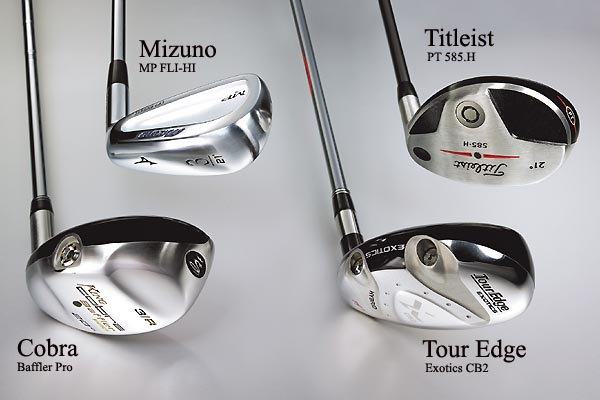 ClubTest: Long-Iron Replacements                       Low handicappers test alternatives to those hard-to-hit long irons                       March 2007                       ClubTesters evaluated the four models in four situations. Each tester hit balls out of rough, chipped to a green, hit fairway shots and drove it off a short tee. Clubs were tested on the driving range and on the course in live game action. Testers used clubs with the appropriate flex for their swing speed/ability.