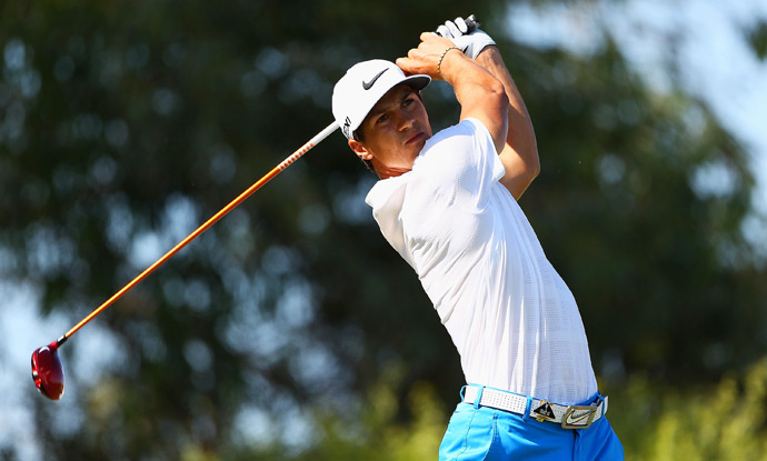 Thorbjorn Olesen, who has made just one bogey this week, is two shots back heading into the final round.