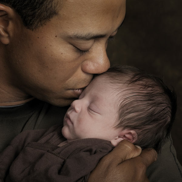 Elin gave birth to their son, Charlie Axel, on Feb. 8, 2009.