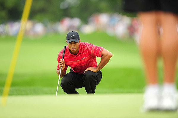 """I did everything I needed to do except for getting the ball in the hole,"" Woods said."