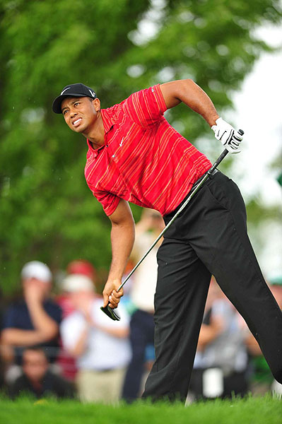 """I was certainly in control of the tournament for most of the day, but just didn't make anything today,"" Woods said. ""I did everything I needed to do except for getting the ball in the hole."""