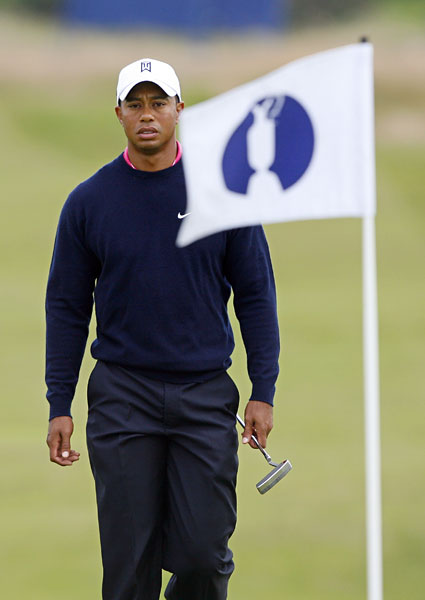 After finishing tied for sixth at the Masters and the U.S. Open, Woods seemed poised to make another run at the claret jug at Turnberry in 2009, but he missed the cut. It was his first missed cut at a British Open and only his second at a major as a professional.