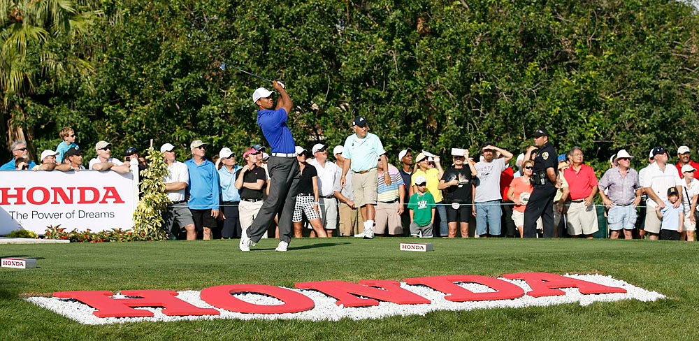 Woods said he did not hit the ball very well on Friday, but he still managed to shoot under par.